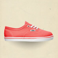 Neon Coral Authentic Lo Pro
