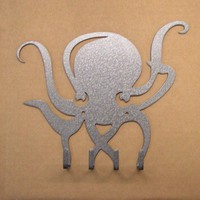 Octopus Key Rack by KnobCreekMetalArts on Etsy