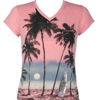 Surf Scene Short-Sleeve