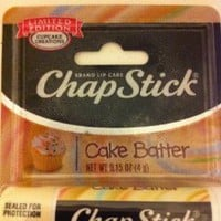 Amazon.com: Chapstick Limited Edition Cupcake Creations Cake Batter: Health &amp; Personal Care