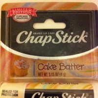 Amazon.com: Chapstick Limited Edition Cupcake Creations Cake Batter: Health & Personal Care