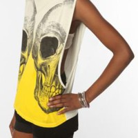 Dip-Dyed Skull Tank