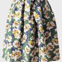 heartbreaker floral print skirt at ShopRuche.com