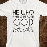 KNEEL BEFORE GOD - glamfoxx.com