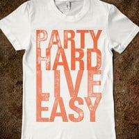 Party Hard, Live Easy (Junior) - xpress