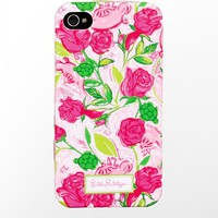 Lilly Pulitzer - iPhone 4/4s Cover- Delta Zeta