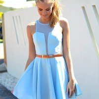 Baby Blue Dresses
