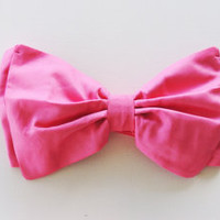 Bubbluegun Pink Bow Bandeau Bikini Top. Vintage Bow Bandeau Sunsuit Bikini.Diva Halter neck top pin up.Custom Made
