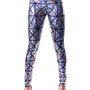Silver &amp; Black Hologram Disco Leggings (((FALL/WINTER &#x27;12/&#x27;13)))