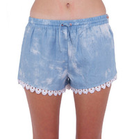 Huffer Frill Shorts - blue | Shorts by Huffer at Thanks | Shop Huffer Online