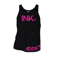 Women&#x27;s INK Black/Pink Tank by InkAddict
