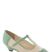 Care to Dance? Wedge in Mint | Mod Retro Vintage Wedges | ModCloth.com