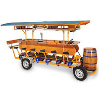 The Pedal Pub - Hammacher Schlemmer