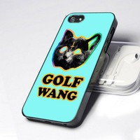 Ofwgkta Odd Future Tron Cat Tie Dye 5 design for iPhone 5 Case