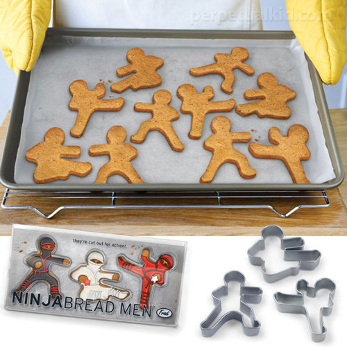 Gingerbread Ninja Cookie Cutters
