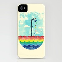 Pond Of Color iPhone Case by Steven Toang | Society6