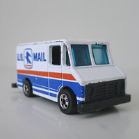 1970s Hot Wheels US Mail Truck / Car Toy Collectible