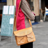 Dual-Pocket Flap-Front Shoulder Bag – Hobo & Shoulder Bags | yeswalker | Free worldwide shipping on every order