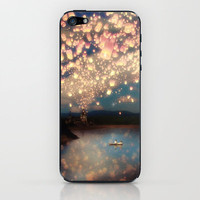 Love Wish Lanterns iPhone &amp; iPod Skin by Belle13 | Society6