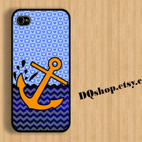 Sailor Anchor Chevron Colorful Love Heart -  iPhone 4 Case iPhone 4s Case iPhone 5 Case