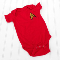 READY TO SHIP Onesuit Star Trek by LindaSumnerDesigns on Etsy