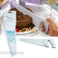 Table Saw Cake Knife | FunSlurp.com