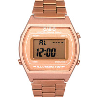Casio Rose Gold B640WC-5AEF Digital Bracelet Watch