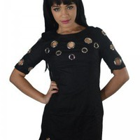 The Black Hole Dress | Indie Retro Vintage Inspired Dresses| Poetrie