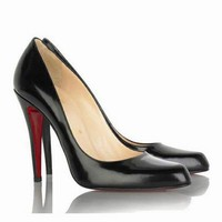 Christian Louboutin Decollete 100mm pumps Black