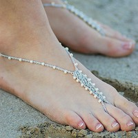 $12.00 Custom Barefoot Sandals Design Your Own by 4mydolly on Etsy