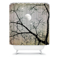 DENY Designs Home Accessories | Shannon Clark Silver Sky Shower Curtain