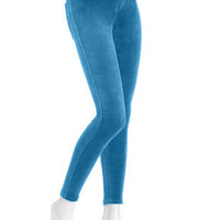 Cotton Velvet Leggings  HUE Womens Velvet Leggings