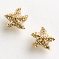 Factory pav starfish earrings