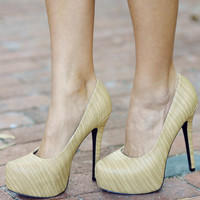 Lost In The Carribean Heels: Tan | Hope's