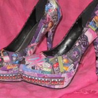 Transformer High Heels by Designed4Divas