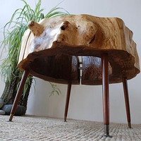 split oak ring table by dz design | notonthehighstreet.com
