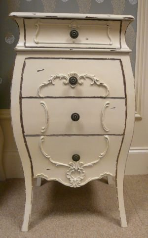 4 drawer french style chest - Melody Maison