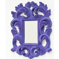 flocked baroque mirror by thomas & vines | notonthehighstreet.com