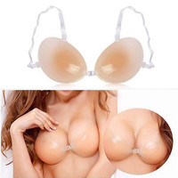 Size C Cup Invisible Silicone Bra For Dress