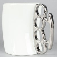 The Fisticup Brass Knuckles Mug : FRED : Karmaloop.com - Global Concrete Culture