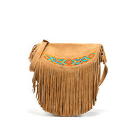 MESSENGER BAG WITH FRINGES - Handbags - TRF - ZARA United States