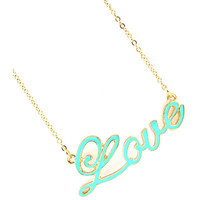 Mint Condition Love Necklace