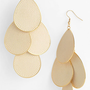 Natasha Couture Pastel Teardrop Earrings | Nordstrom