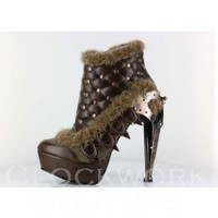 Agnes Time Traveler Steampunk Shoe - 2 colors - ANTM 19 - Steampunk