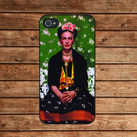 iphone 4 case,iphone 4s case---Frida Kahlo ,in plastic or silicone case