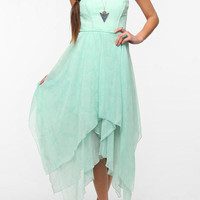 Urban Outfitters - Ecote Mary Kate Strapless Chiffon Dress