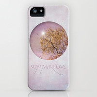 SUMMER LOVE iPhone Case by  VIAINA | Society6