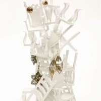 Dollhouse Chairs Jewelry StandBack in Stock!