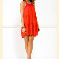 Sunset Dress                    - Francesca's Collections