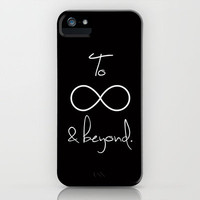 To Infinity and Beyond iPhone Case by RexLambo | Society6